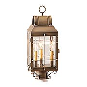 Martha's 3-Light Exterior Post Lantern (item #RS-03IW-130-3X)