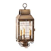 Martha's 3-Light Exterior Post Lantern (item #RS-03IW-130-3X)