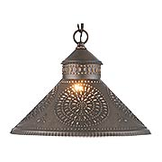 Stockbridge Tin Pendant (item #RS-03IW-686CBTX)