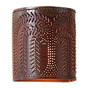 Willow Pattern One-Light Wall Sconce (item #RS-03IW-724WLX)