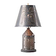 Fireside Table Lamp with Willow Design Shade (item #RS-03IW-815WLLPX)
