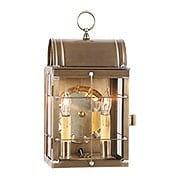 Toll House Wall Lantern In Antique Copper Or Brass (item #RS 03IW