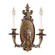 Italian Baroque Sconce With Antique Bronze Patina (item #RS-03ML-N202102)