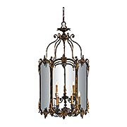 Mollis 9-Light Foyer Pendant (item #RS-03ML-N2335-OXB)