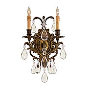 Moldin 2-Light Sconce (item #RS-03ML-N2414)