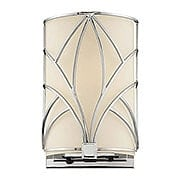 Storyboard Flush Wall Sconce With Etched Glass Shade (item #RS-03ML-N2921-77)