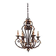 Zaragoza 6 Light Chandelier (item #RS-03ML-N6235-355)