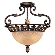 Zaragoza 3 Light Semi Flush Mount (item #RS-03ML-N6241-355)