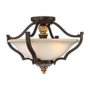 Chateau Nobles 3 Light Semi Flush (item #RS-03ML-N6450-652)