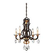 Chateau Nobles 4 Light Mini Chandelier (item #RS-03ML-N6454-652)