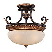Bella Cristallo Semi-Flush Mount Ceiling Light (item #RS-03ML-N6642-258B)
