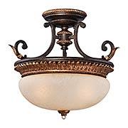Bella Cristallo Semi-Flush Mount Ceiling Light (item #RS-03ML-N6642-258B)