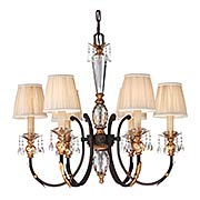 Bella Cristallo 6-Light Chandelier (item #RS-03ML-N6646-258B)