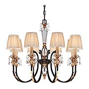 Bella Cristallo 8-Light Chandelier (item #RS-03ML-N6648-258B)