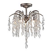 Bella Flora Semi-Flush Mount Ceiling Light (item #RS-03ML-N6865-278)