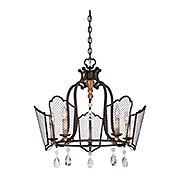 Cortona 5 Light Chandelier (item #RS-03ML-N7115-258B)