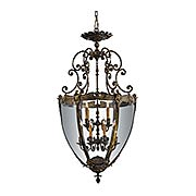 Pigeage 12-Light Foyer Pendant (item #RS-03ML-N9204)