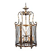 Pigeage Globus 12-Light Foyer Pendant (item #RS-03ML-N9306)