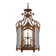 Vite 12-Light Foyer Pendant (item #RS-03ML-N952012)