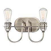 Uptown Edison 2-Light Bath (item #RS-03MV-3452-84B)