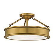 Harbour Point 3-Light Semi Flush Mount (item #RS-03MV-4177X)