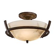 Calavera Downrod 3-Light Semi Flush Mount (item #RS-03MV-687-14)