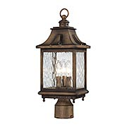 Wilshire Park 3-Light Post Mount (item #RS-03MV-72116-149)