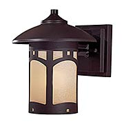 Harveston Manor 9-inch 1-Light Outdoor Wall Mount (item #RS-03MV-8721-A615B)