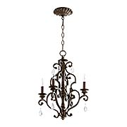 San Miguel 4-Light Chandelier (item #RS-03QL-6073-4X)