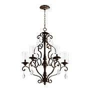 San Miguel 5-Light Chandelier (item #RS-03QL-6073-5X)