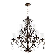 San Miguel 9-Light Chandelier (item #RS-03QL-6073-9X)