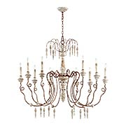 La Maison 10-Light Chandelier (item #RS-03QL-6352-10X)