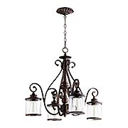 San Miguel 4-Light Nook Chandelier (item #RS-03QL-6473-4X)
