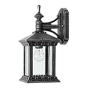 Huxley Small Down-Wall Exterior Lantern (item #RS-03QL-7461X)