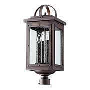 Riverdale 4-Light Post Lantern (item #RS-03QL-759-4X)