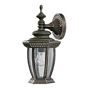 Baltic Small Down-Wall Exterior Lantern (item #RS-03QL-7801X)