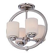 Celestial Semi-Flush Mount Ceiling Light (item #RS-03QZ-CLT1714BN)