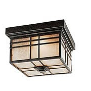 Hillcrest Flush Mount Ceiling Light in Imperial Bronze (item #RS-03QZ-HC1612IB)