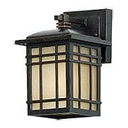 Hillcrest Small Wall Lantern in Imperial Bronze (item #RS-03QZ-HC8406X)