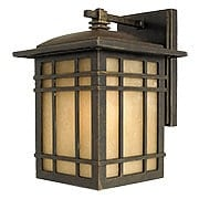 Hillcrest Wall Lantern In Imperial Bronze (item #RS-03QZ-HC8407X)
