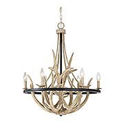 Journey 6-Light Chandelier (item #RS-03QZ-JR5006X)