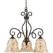 Monterey Mosaic 3-Light Chandelier (item #RS-03QZ-MY5103ML)