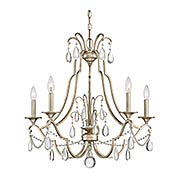 Regent 5-Light Chandelier (item #RS-03QZ-REG5005X)