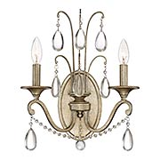 Regent 2-Light Wall Sconce (item #RS-03QZ-REG8702X)