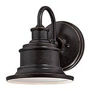 Seaford Small Outdoor Lantern (item #RS-03QZ-SFD8407X)
