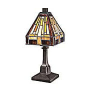 Stephen Mini Accent Lamp in Vintage Bronze (item #RS-03QZ-TF1018TVB)
