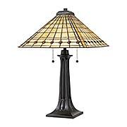 Braden 2-Light Tiffany Table Lamp (item #RS-03QZ-TF3335TX)