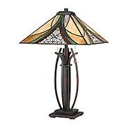 Orleans 2-Light Tiffany Table Lamp (item #RS-03QZ-TF3342TX)