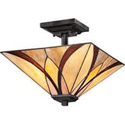 Asheville Semi-Flush Mount Ceiling Light (item #RS-03QZ-TFAS1714X)