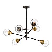 Trance 6-Light Chandelier (item #RS-03QZ-TNC5006X)
